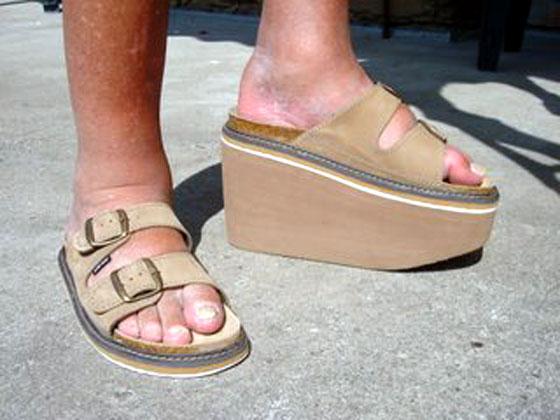 ae0e44c2f60 zdravotní obuv - zvýšení podešve - levá 12 cm